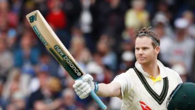 Steve Smith was the star of the Ashes series in 2019 with 774 runs at an average of 110.57 from four Tests. AP