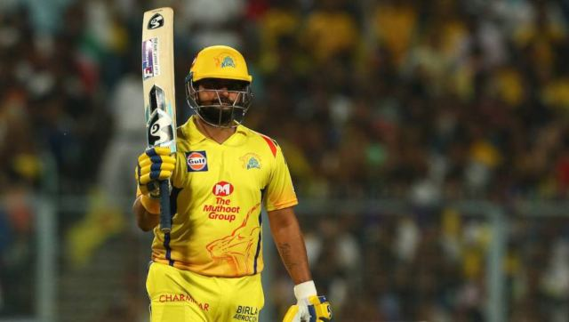 Suresh Raina has been retained by Chennai Super Kings. Image: SportzPics