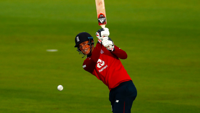 Tom Banton earned comparisons with England batting great Kevin Pietersen after his 43-ball 71 against Pakistan in the first T20I. AP