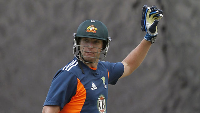Australia's T20 captain Cameron White attends a practice session ahead of their Twenty20 cricket match against Sri Lanka in Kandy August 4, 2011. Australia will play 2 Twenty20, 5 ODI and 3 test matches against Sri Lanka. REUTERS/Dinuka Liyanawatte (SRI LANKA - Tags: SPORT CRICKET) - GM1E78416RH01