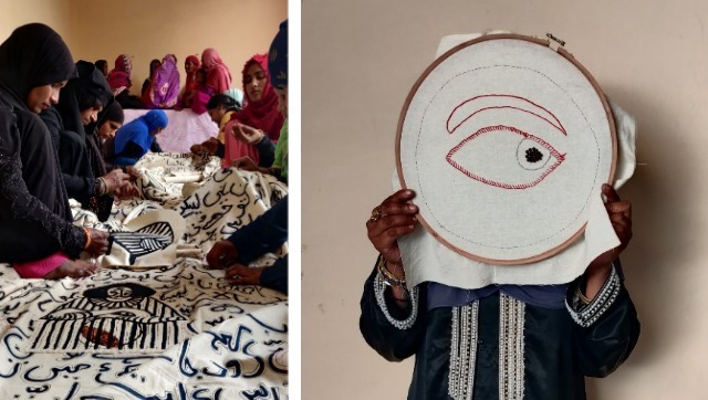 With Lihaaf a quilting project artist Arshi Ahmadzai and her collaborators embroider a challenge to patriarchy