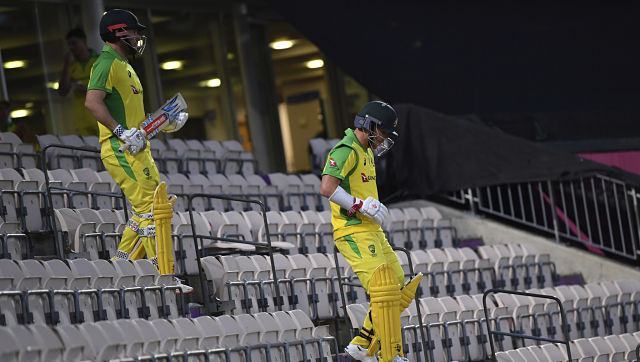 """""""It's the first time I have been here (England) and not been abused, which is quite nice,"""" said Warner. AP"""