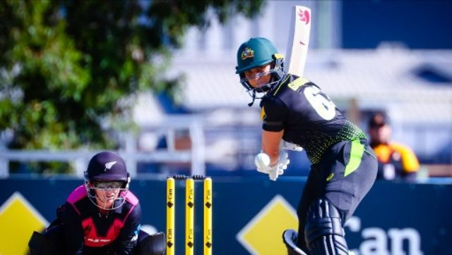 The Australians reached their total of 138-4 thanks to a superb 61 from Ash Gardner, who smashed six boundaries and cleared the fence three times in 41 balls. AFP