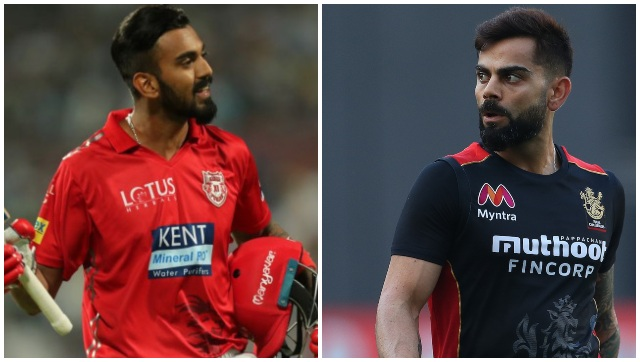 KXIP, led by KL Rahul, would like to leave behind the short-run controversy when they take on Virat Kohli's RCB on Thursday. Image courtesy: Sportzpics