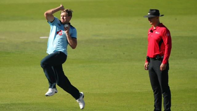 File image of David Willey. AFP