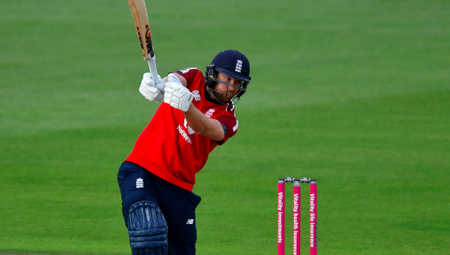 Dawid Malan climbed to the top of the ICC T20I batsmen rankings ahead of Babar Azam and Aaron Finch after his exploits against Australia. AP