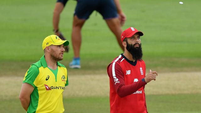Moeen Ali is leading England for the third T20I against Australia. AP