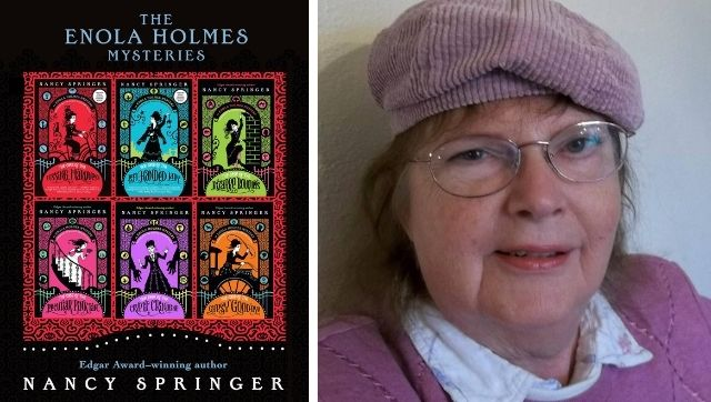 Enola Holmes author Nancy Springer on her popular mystery series and the Netflix adaptation