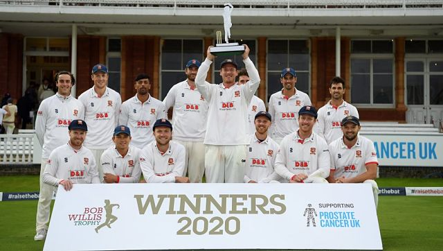The key performance belonged to former England Test captain Alastair Cook. Image Courtesy: Twitter @EssexCricket