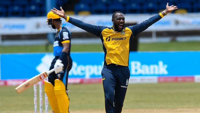 Kesrick Williams in action in the CPL. Caribbean Premier League