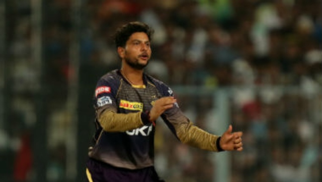 File image of Kuldeep Yadav. Sportzpics