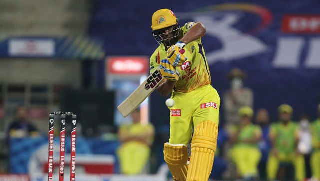Ambati Rayudu took a few chances and ended up scoring 71 off just 48 balls. Sportzpics
