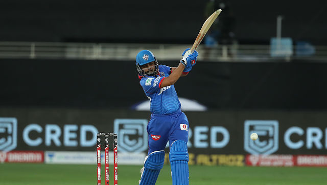Prithvi Shaw of Delhi Capitals in action during their IPL match against Chennai Super Kings. Sportzpics
