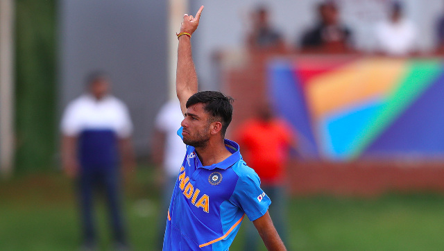 Ravi Bishnoi finished as the leading wicket-taker in the 2020 edition of the ICC U-19 World Cup. Image credit: Twitter/@BCCI