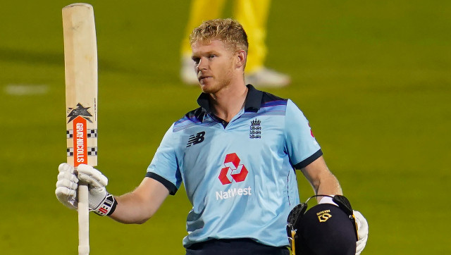 Sam Billings brought up his maiden ODI ton, albeit in a losing cause, in the first ODI against Australia at Manchester. AP