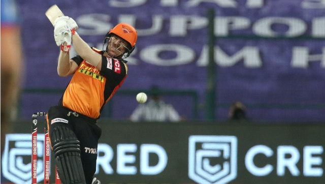 David Warner-led SRH would like to make amends for their loss against RR. Image courtesy:  Sportzpics