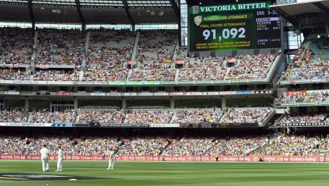 Fans are expected to be allowed into the Melbourne Cricket Ground for the blockbuster Boxing Day Test between Australia and India. AFP