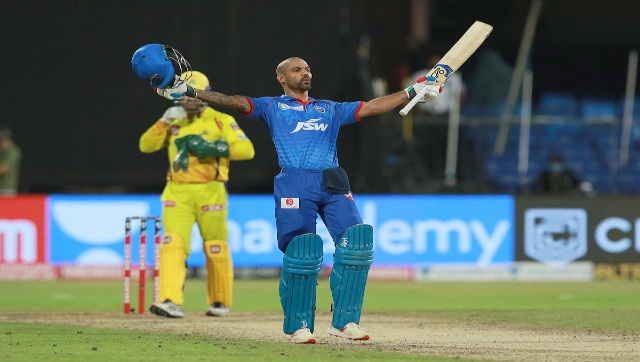 DC opener Shikhar Dhawan, who struck his maiden IPL ton, was adjudged the Man of the Match. Sportzpics