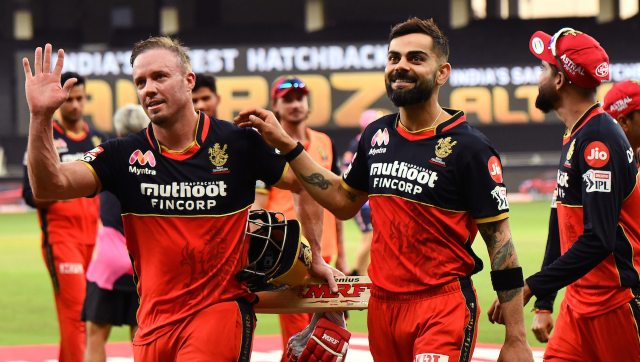 No task is impossible for AB de Villiers who smashed 55 off 22 and helped RCB score 75 in last six overs to win the match by seven wickets. Image: Sportzpics for BCCI