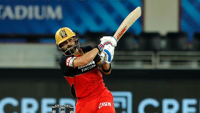 It was captain Kohli's unbeaten 90 off 52 balls that powered RCB to a competitive 169 for 4 on a slowish track after opting to bat. Sportzpics