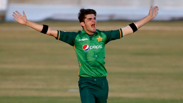 Shaheen Shah Afridi, the pick of the Pakistan bowlers, finished with figures of 5-49. AP