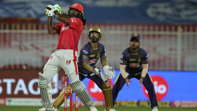 Gayle, one of the oldest players in the tournament, was benched for the early part of the IPL and then missed games over a stomach bug, but he has responded in style. Image courtesy: Sportzpics