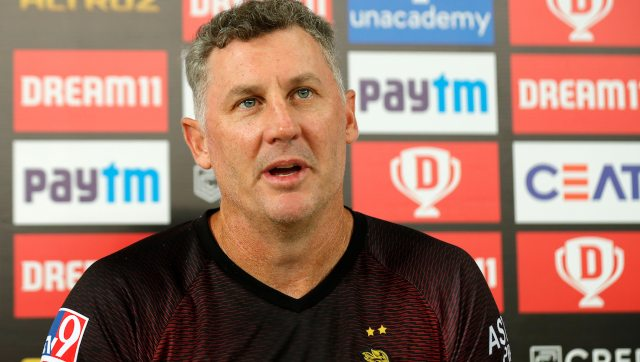 David Hussey said KKR would try to play free-flowing cricket in their last league match. Image: Sportzpics for BCCI