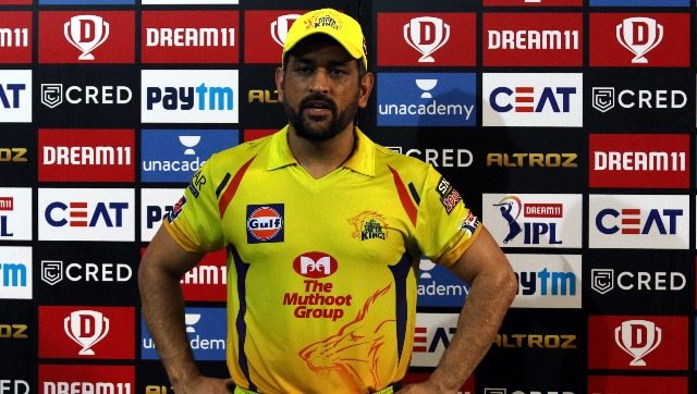CSK skipper MS Dhoni parised his bowlers but blamed the batsmen for the loss against KKR. Image courtesy: Sportzpics