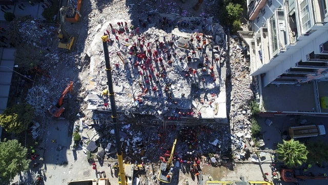 Toll in Turkey Greek island earthquake rises to 37 over 800 injured Izmir reports most damage
