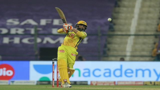 Ravindra Jadeja, who came to bat at No 7 (after Kedar Jadhav), scored 21 off just 8 balls, but it wasn't enough to take CSK over the line as they lost to KKR by 10 runs. Sportzpics