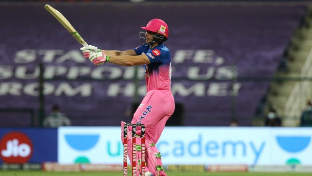 Jos Buttler steered Rajasthan Royals to victory with an assured knock of 70. SportzPics