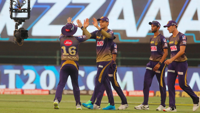 Kolkata Knight Riders registered a thrilling two-run win over Kings XI Punjab to move to the third spot on the IPL 2020 points table on Saturday. Sportzpics