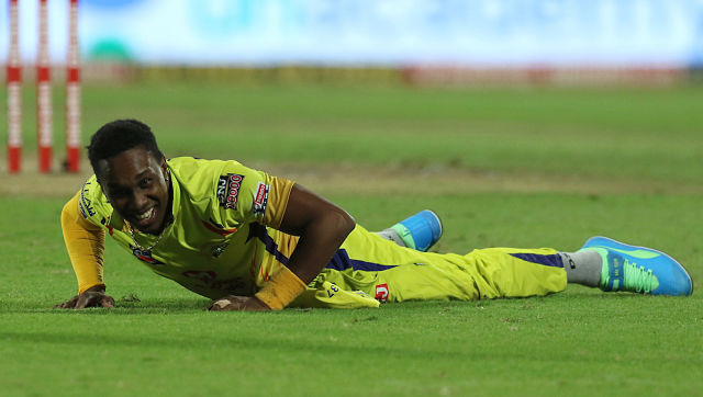 Dwayne Bravo's inability to bowl the final over cost CSK their IPL game on Saturday. Sportzpics