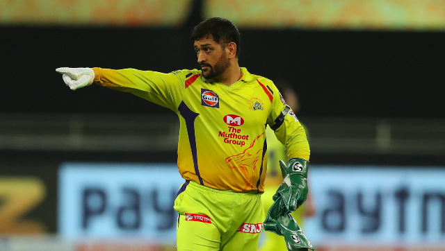 MS Dhoni's CSK have had a forgettable first half of IPL 2020 so far, languishing at the seventh spot in eight-tem competition. Image: Sportzpics
