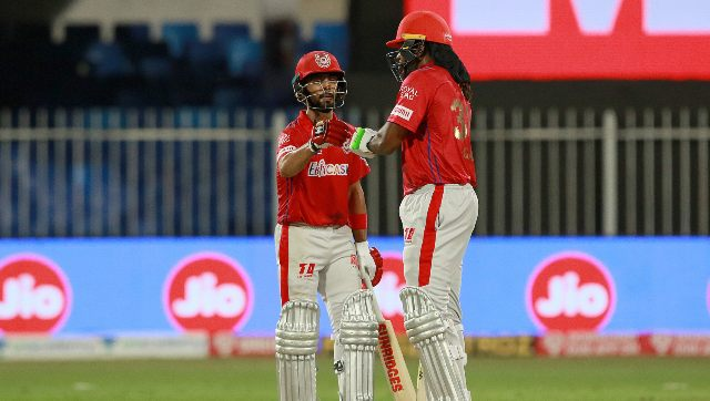Mandeep Singh's 100-run partnership with Chris Gayle paved the way for KXIP's comprehensive win. Image: Sportzpics