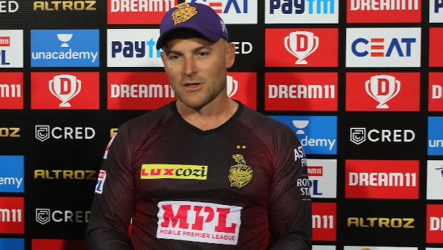 KKR head coach Brendon McCullum said there was no demon in the pitch but their batsmen lacked intent against some quality RCB bowling. Sportzpics