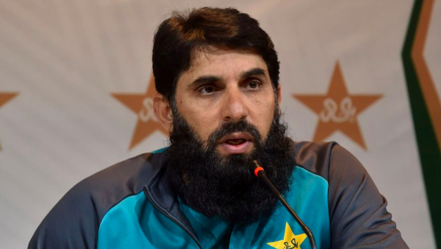 File image of Pakistan head coach and former captain Misbah-ul-Haq. Image credit: Twitter/@ICC