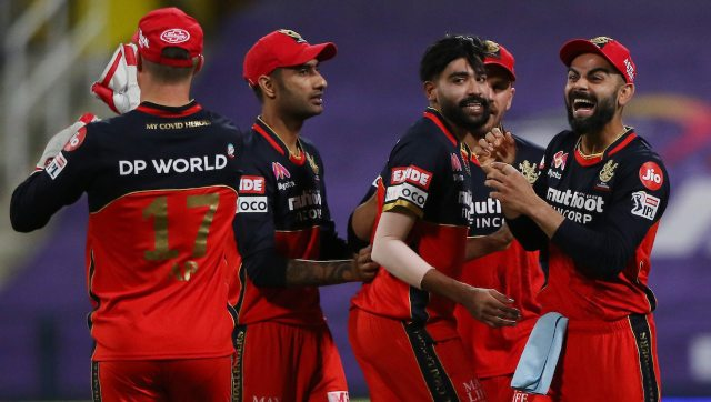 Mohammed Siraj bowled two rare wicket-maiden overs to set up RCB's eight-wicket victory over KKR. Image: Sportzpics for BCCI