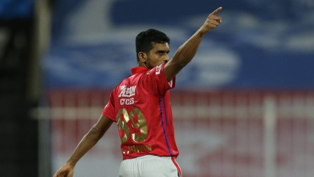 Murugan Ashwin took two wickets against KXIP and gave away just 23 runs in his four overs. Image: Sportzpics for BCCI