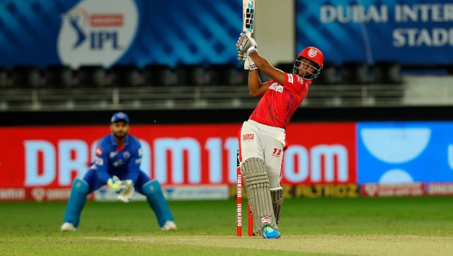 Nicholas Pooran's quickfire 53 off 28 balls was the driving force behind KXIP's chase. SportzPics