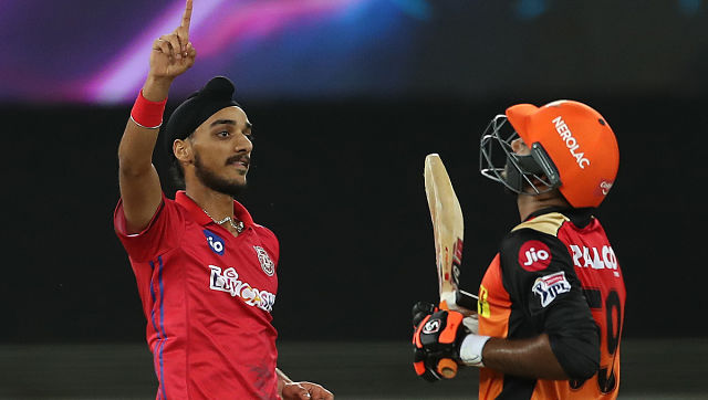 Arshdeep played a pivotal role in KXIP's 12-run win over Sunrisers Hyderabad on Saturday night. Sportzpics