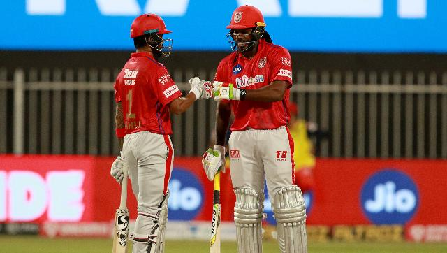 Both KL Rahul and Chris Gayle smashed five sixes each, rendering the opposition attack helpless. Sportzpics