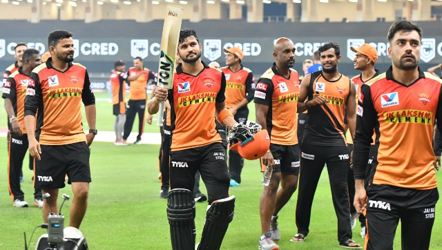 Manish Pandey's 47-ball 83 guided Sunrisers Hyderabad to an easy win over Rajasthan Royals on Thursday. Image courtesy: Sportzpics