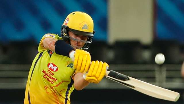 CSK opted to bat first after winning the toss. The lost Faf du Plessis early but that did not stop Sam Curran playing his part with a 21-ball knock of 31 runs. Curran was promoted as an opener, and began the innings with du Plessis. CSK coach Stephen Fleming later said in the post-match press conference that the move to do so provided his team a bit of momentum. Sportzpics