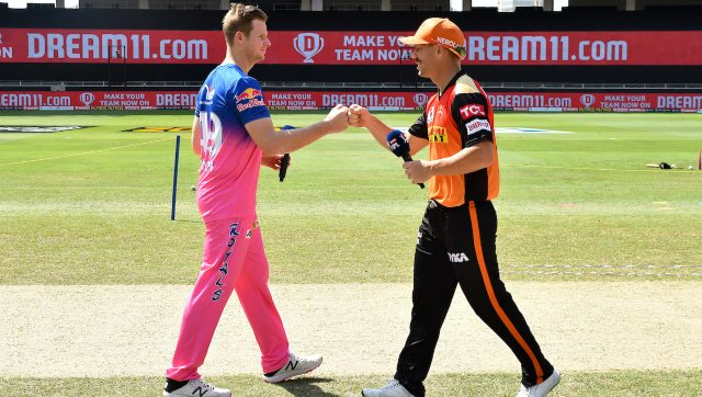 Rajashan Royals are sixth in the table with eight points while Sunrisers Hyderabad are seventh with six points. Image: Sportzpics for BCCI