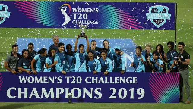 Supernovas won the Women's T20 Challenge in 2019. Image: SPORTZPICS for BCCI