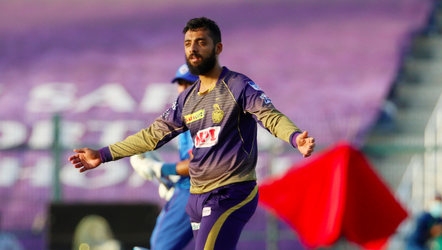 Varun Chakravarthy has had quite the run for KKR with the ball in his first full season in the IPL. Sportzpics