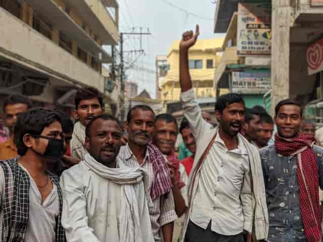 Khaali haath khaali jeb khaali pet Ahead of Bihar polls Nitish Kumar govt faces ire of intrastate migrants