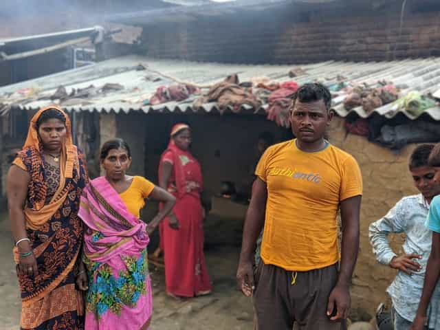 A migrant worker in a Mahadalit hamlet in Bodh Gaya said he is forced to migrate because there is nothing here for him or his family. Firstpost/Devparna Acharya