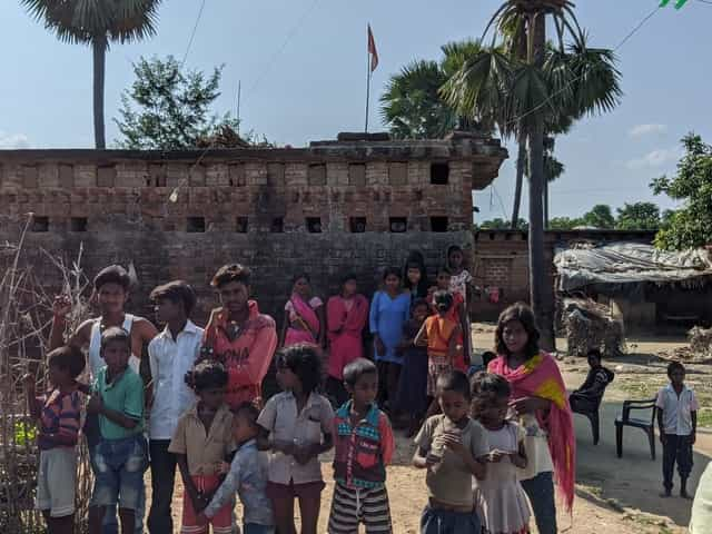 Some of the children from Nima village went to Rajasthan looking for petty jobs. Firstpost/Devparna Acharya